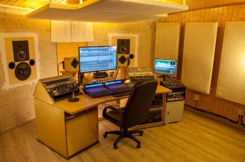Control 2 Bungalow Studio de grabacion web